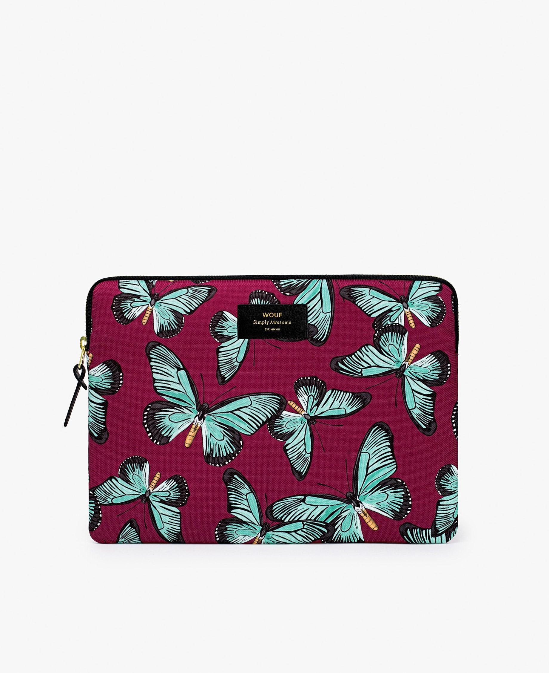 1b08c421d2 Housse ordinateur 13 pouces Butterfly – WOUF – trinity mode et maison