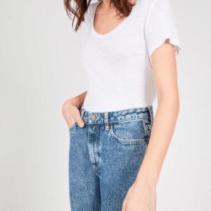 trinity-american-vintage-tshirt-jacksonville-blanc