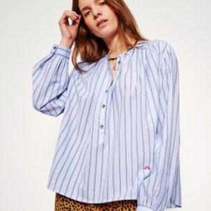 trinity-leonandharper-cake-chemise-blouse-raye-bleuciel-face