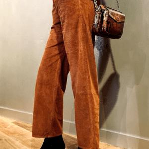 trinity-leon-and-harper-pantalon-velours-rouille