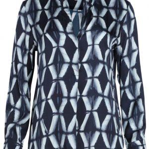 trinity-hartford-chemise-viscose-imprimée-bleur-AUCB626