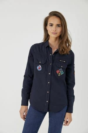 trinity-five-jeans-chemise-militaire-cecile-navy